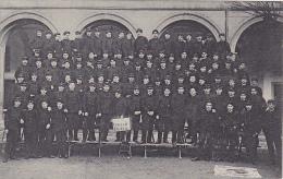 Cluny - Arts Et Métiers - La Promotion 109-112 EX 880, Carte Photo De Groupe - Circulé 1910 - Cluny