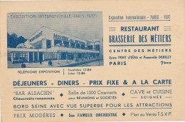 75 // PARIS  VII EME    Restaurant Brasserie Des Metiers - District 07