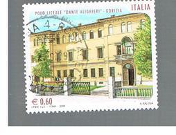 ITALIA REPUBBLICA  -   2008  LICEO DI GORIZIA           -   USATO  ° - 6. 1946-.. Repubblica