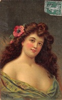 Illustration - Jeune Femme Portrait - Illustrateur Henriot - Henriot