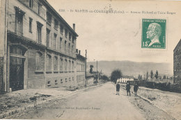 42 // SAINT MARTIN EN COAILLEUX    Avenue Richard Et Usine Berger  1799 - Other Municipalities