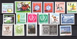 1986    Bolivie, Année Complète, Yv.663 / 679**, Cote 43,25 €, - Bolivie