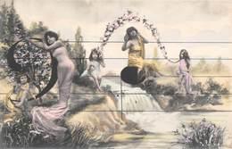 Fantaisie - Notes De Musique - Surréalisme Jeunes Femmes - Femmes