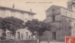 07 / SARRAS  / BUREAU DE POSTE ET L EGLISE / JOLI PLAN - Other Municipalities