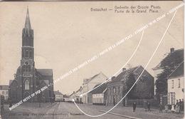 BOISSCHOT HEYST OP DEN BERG +/- 1910 GEDEELTE DER GROOTE PLAATS / PARTIE DE LA GRAND PLACE / BOOISCHOT - Heist-op-den-Berg