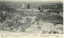 Cpa  55 Clermont En Argonne * Hôpital Rescapé , Ww1 ,  écrite 1916 Série De  Cartes à Son épouse Léontine - Clermont En Argonne