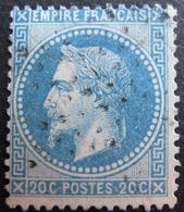 LOT R1752/321 - NAPOLEON III Lauré N°29A - ETOILE MUETTE DE PARIS - 1863-1870 Napoleon III With Laurels