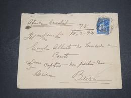 PORTUGAL - Enveloppe Pour L 'Afrique Oriental En 1914 - L 16274 - Lettres & Documents