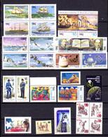 1986    Chili,  Année Complète, Yv.722 / 771**, Cote 57,60 €, - Chili