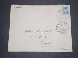 EGYPTE - Enveloppe D'Alexandrie Pour La France En 1939 Avec Cachet De Censure - L 16278 - Égypte