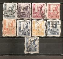 España/Spain-(usado) - Edifil  820-28 - Yvert  580A-87 (o) - 1931-Hoy: 2ª República - ... Juan Carlos I