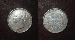 INDES BRITANNIQUES - 1 ROUPIE Victoria - 1840 - Inde