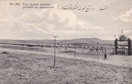UNE ARMEE PERSANE PENDANT UN MANOEUVRE. PERSE(IRAN).-BLEUP - Iran