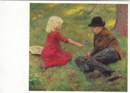 """Painting - Erik Werenskiold.  """"Solstreif"""" Göteborg Artmuseum.  Sweden  # 07284 - Paintings"""