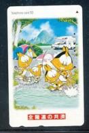 JAPAN Telefonkarte -Comic  - Siehe Scan - - Comics