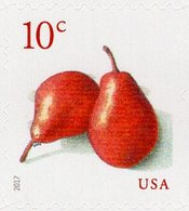 USA - 2017 - Pears - Mint Self-adhesive Stamp - Etats-Unis