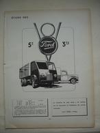 ETUDE DU CAMION V8 FORD 5T ET 3,5T Article Issue Revue Technique D'époque - Camions