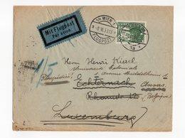 Osterreich 80 Mit Flugpost On Letter 1933 - 1918-1945 1ste Republiek