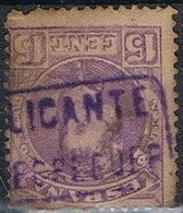 Sello 15 Cts Alfonso XIII, Carteria Oficial II PEDREGUER (Alicante), Num 246 º - 1889-1931 Königreich: Alphonse XIII.