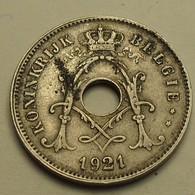 1921 - Belgique - Belgium - 10 CENTIMES, Michaux, Légende Belgie, KM 86 - 1909-1934: Albert I
