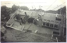 "NAUFRAGE DU "" HILDA "" ( 19 NOVEMBRE 1905 ) - LA PASSERELLE DU NAVIRE - SAINT MALO - Krieg"