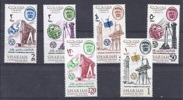180028012  SHARJAH  YVERT  Nº  114/21  **/MNH - Sharjah