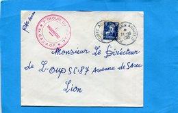 Marcophilie-ALGERIE -Lettre FM  >France-cad1955 Poste Aux Armées+cachet 3°groupe  Stamp15frs Taxe Aérienne - Postmark Collection (Covers)