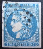 LOT R1752/333 - CERES EMISSION DE BORDEAUX N°46B - LUXE - LGC - Cote : 25,00 € - 1870 Bordeaux Printing