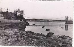 LORIENT :CPSM.P.F.CRANTEE DE 1953.LE PONT ST.CHRISTOPHE A MAREE BASSE.N° 15.T.B.ETAT.PETIT PRIX.COMPAREZ!!! - Lorient