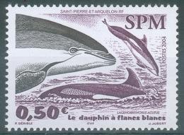 Saint Pierre And Miquelon, Atlantic White-sided Dolphin (Lagenorhynchus Acutus), 2004, MNH VF - St.Pierre & Miquelon