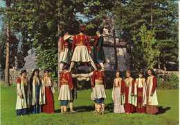 Montenegro - National Costume From Montenegro - Folklore,dance - Montenegro
