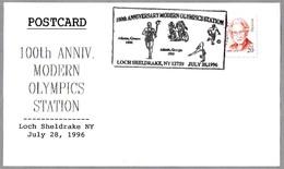 100 Años JUEGOS OLIMPICOS - 100 Years Olympic Games. Athens - Atlanta. Loch Sheldrake NY 1996 - Juegos Olímpicos