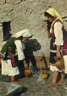 Macedonia - National Costume From Region Skopska Blatija By Skopje - Folklore,les Femmes - Macedonia
