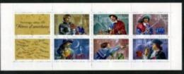 Année 1997 - N° 3121 - T-P N° 3115 à 3120 - Personnages Célèbres - Héros D'aventures : D'Artagnan, Cyrano, Le Bossu, Etc - Carnets