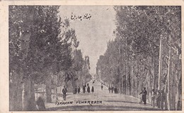 ISPAHAN TCHARBACH.COMMANDEE PAR S NADJMEDDINE EGHBAL ISFAHAN. PERSE(IRAN). VOYAGEE.-BLEUP - Iran