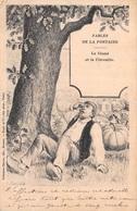 Fables De La Fontaine - Le Gland Et La Citrouille - Illustration Dascher - Märchen, Sagen & Legenden