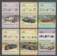 SERIE NEUVE DE ST-VINCENT-GRENADINES - AUTOMOBILES N° Y&T 450A à 450M - Cars