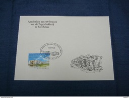 (02.05) BELGIE Aandenken Aan Uw Bezoek Aan De Zegeldrukkerij Te Mechelen - Cartes Souvenir