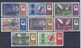 180028027  QATAR  YVERT  Nº  61/8  **/MNH - Qatar