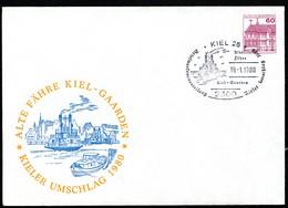 Bund PU115 C2/016 Privat-Umschlag ALTE FÄHRE KIEL-GAARDEN Sost. Kiel 1980 - [7] Federal Republic