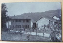 AGLIE'  VILLA BORON  ANIMATA   (1910/1920 CIRCA) -  NON VIAGGIATA - Altre Città