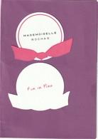 """Cte Parfumée ROCHAS """" Mademoiselle ROCHAS""""  R/V - Modern (from 1961)"""