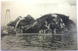 """CATASTROPHE DU CUIRASSÉ LA """" LIBERTÉ """" - 25 Septembre 1911 - Guerre"""