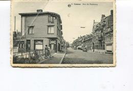CPA  -  COMINES - Rue Du Faubourg   - Dos Vierge - 1 Pli - Comines-Warneton - Komen-Waasten