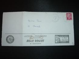 L. TP M.DE CHEFFER 0,40 OBL.10-11 1970 07 COUCOURON ARDECHE + LAITERIE FROMAGERIE Albert ROCHE + BEURRE Sire De Montlord - Autres