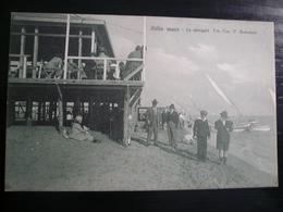 Ostia La Spiaggia Nuova Epoca Ca 1920 - Altre Città