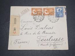 PEROU - Enveloppe En Recommandé De Lima Pour La France En 1934 - L 16299 - Pérou