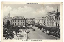 JP ~ 64 ~  PAU .   La Rue Du MARECHAL JOFFRE - Pau