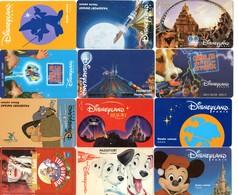 Lot 20 Passeports DISNEY - DISNEYLAND (dont 2 Doubles) - Toegangsticket Disney