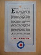 WWII WW2 Tract Flugblatt Propaganda Leaflet In French, EH(F).137a, EN 1941 La R.A.F. A Atteint L'égalité… - Oude Documenten